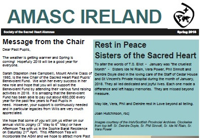 AMASC newsletter